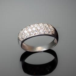 Серебряное кольцо Агата