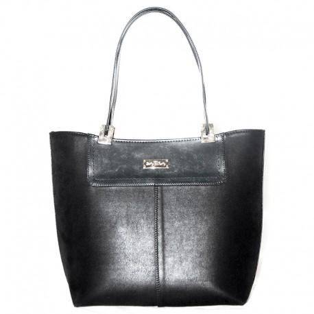 Женская сумка с отделкой