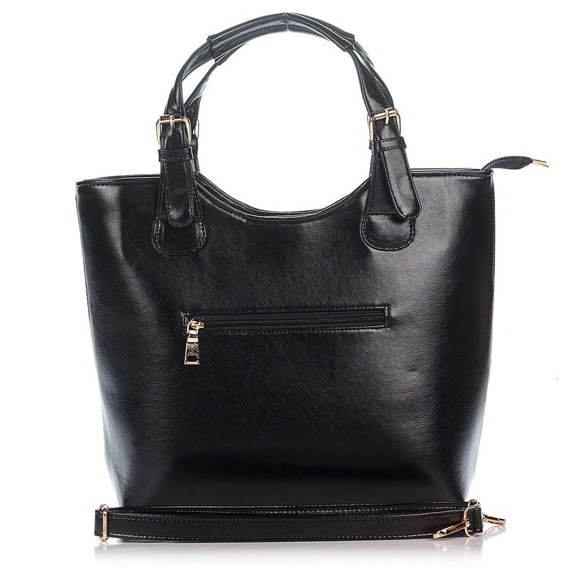 f03b25c206fa Черная женская сумка-тоут Betty Pretty   Lady.cn.ua