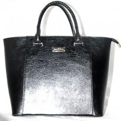 Блестящая сумка-трапеция Betty Pretty, эко-кожа