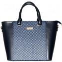Женская сумка с центральной отделкой