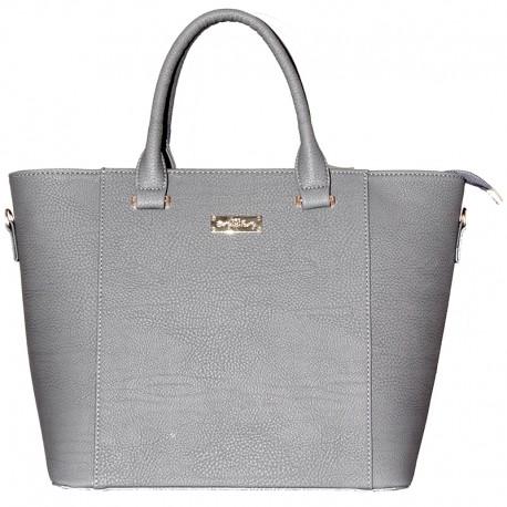 Практичная сумка Betty Pretty (серый)