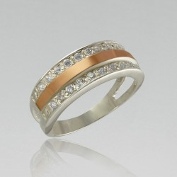 Серебряное кольцо Виктория-2