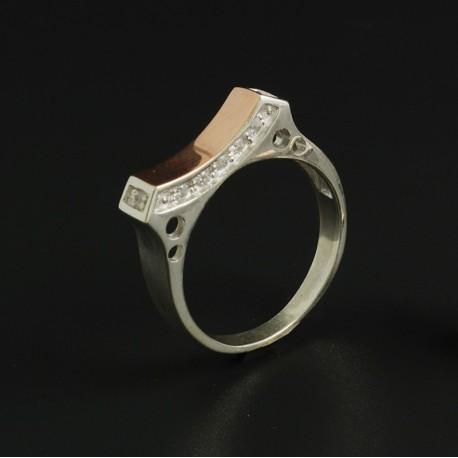 Серебряное кольцо Ладочка