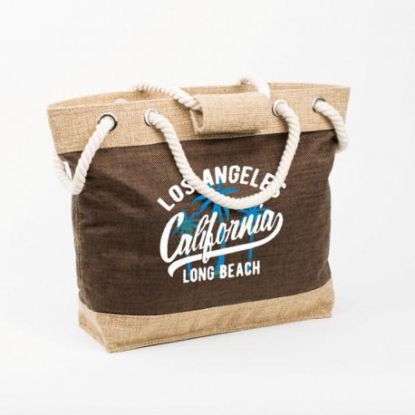 Сумка для пляжа California (коричневый)
