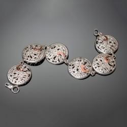 Женский серебряный браслет Тропиканка