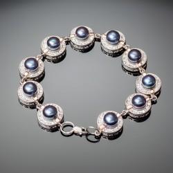 Женский серебряный браслет Каприз