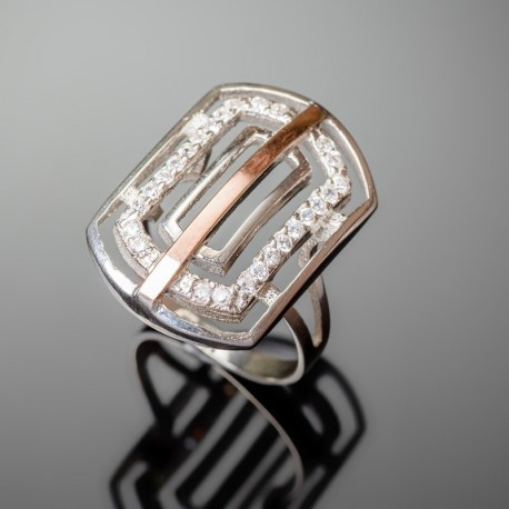 Серебряное кольцо Итака