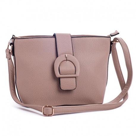 Маленькая сумка через плечо (коричневый)