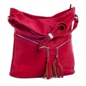 Вместительная сумка с кисточками