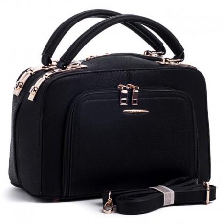 Модная женская сумка (черный)