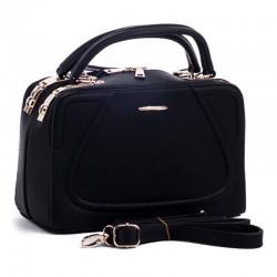 Женская сумка с короткими ручками, эко-кожа
