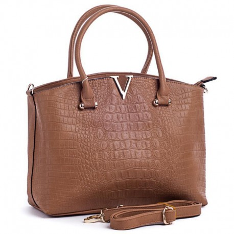 Вместительная сумка (коричневый)