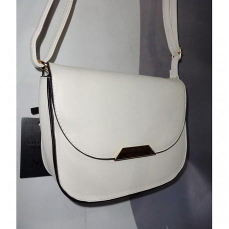 Женская сумка-почтальйонка (белая)