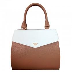 Двухцветная женская сумка