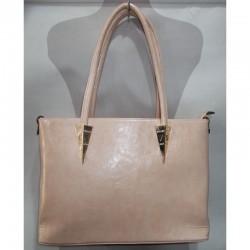 Прямая сумка из кожзама