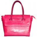 Лаковая сумка Betty Pretty с клапаном
