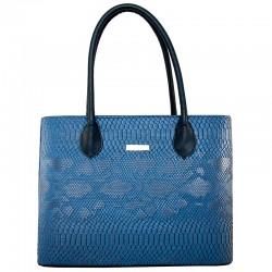 Прямая женская сумка (синий)