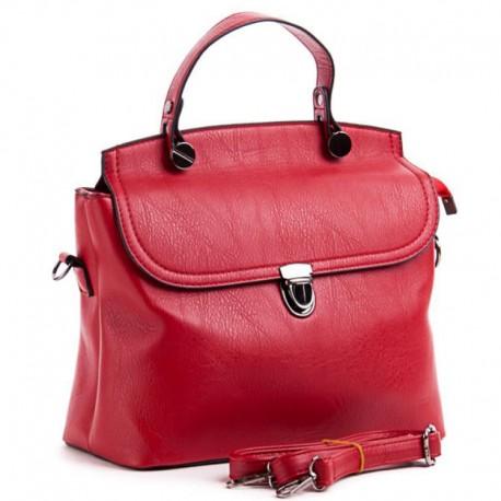 Сумка-портфель с ручкой (красный)