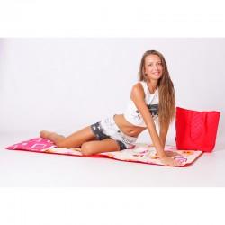 Пляжная сумка-коврик, трансформер, 165х75 см