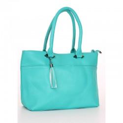 Женская сумка недорого (бирюза)