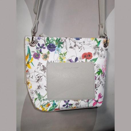 Прямая женская сумка шоппер DJ (серый)