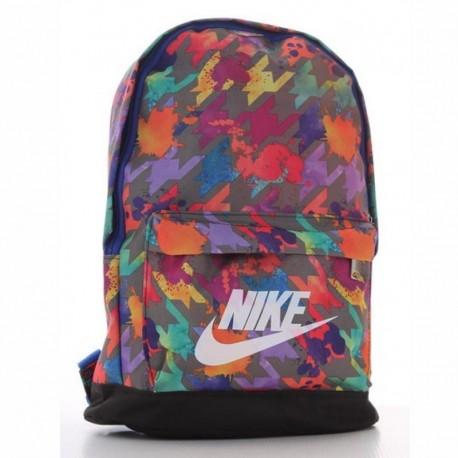 Женский спортивный рюкзак (оранжевый)