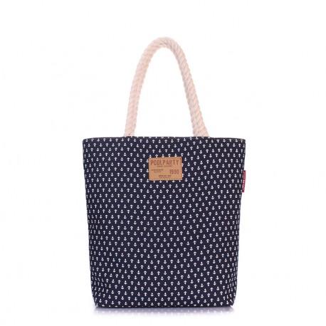 Пляжная сумка с принтом ЯКОРЕК