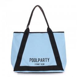 Пляжная сумка POOLPARTY LAGOONA (голубой)