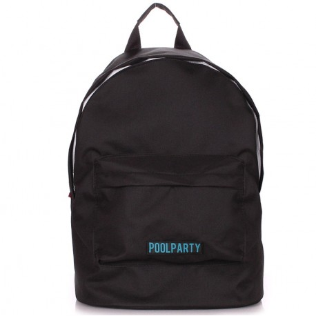 Черный женский рюкзак ECO BACKPACK BLACK