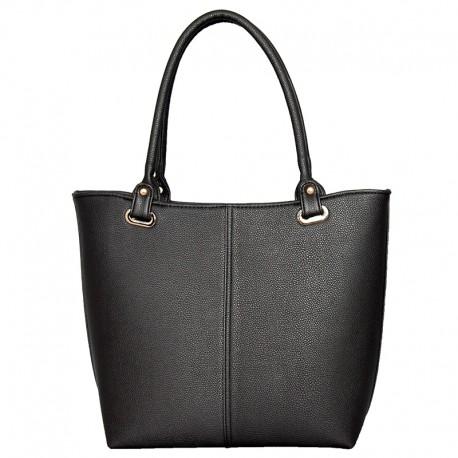 Однотонная матовая дамская сумка