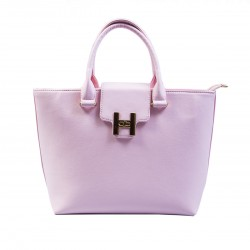 Женская сумка гладкая (розовый)