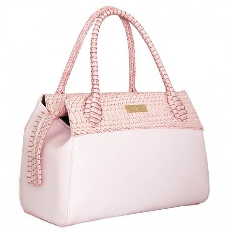 Двухцветная сумка (розовый)