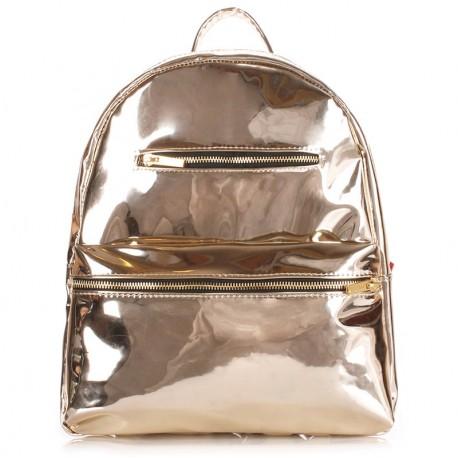 Золотой рюкзак MINI BACKPACK POOLPART