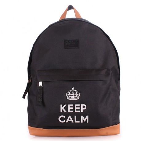 """Рюкзак с модной надписью """"KEEP CALM"""""""