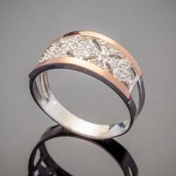Серебряное колечко Афродита