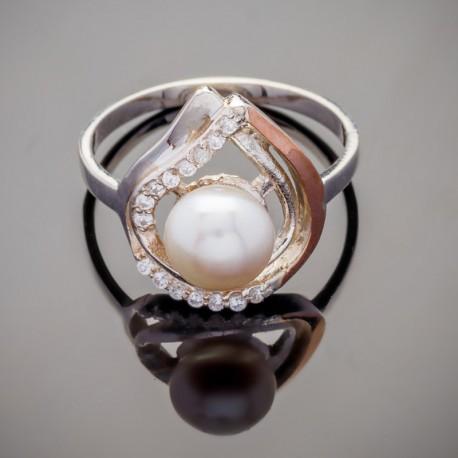 Серебряное кольцо Элис