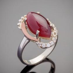 Кольцо женское Марсель из серебра