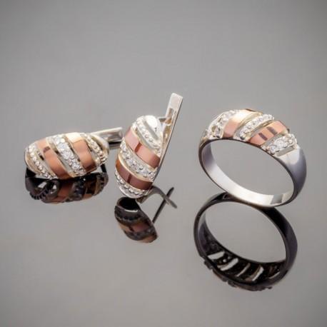 Майя - набор серебряных украшений