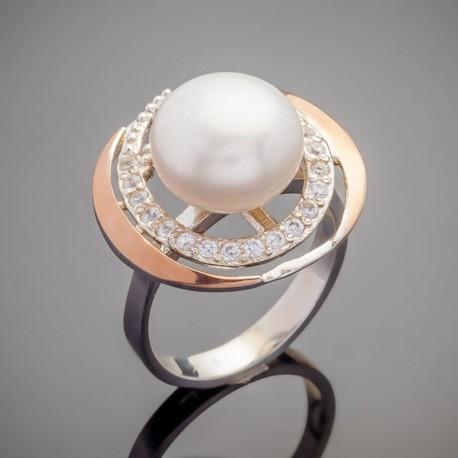 Серебряное кольцо Фортуна