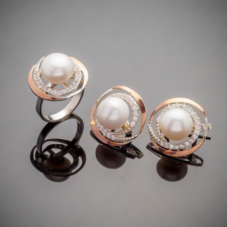 Женские украшения Фортуна - серебро 925