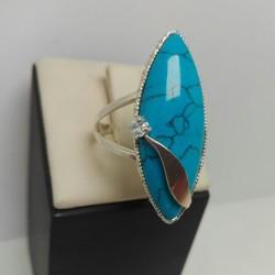Серебряное кольцо Маркиза