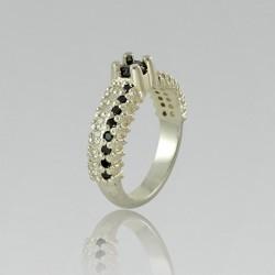 Серебряное кольцо дорожка