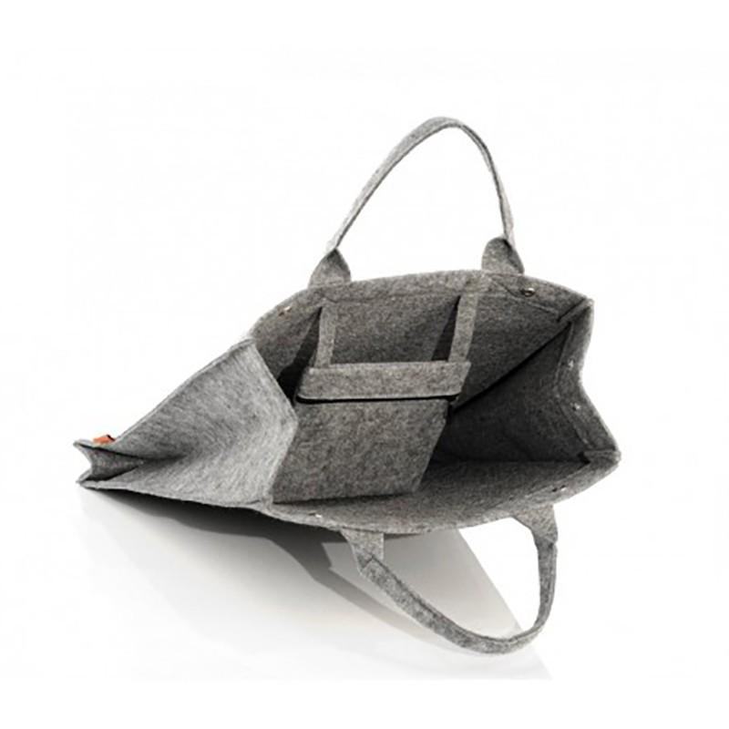 c8975c59b9bd Удобная сумка из войлока в виде пакета, на магните, арт.1652 / Lady ...