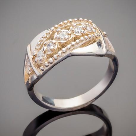 Серебряный перстень Николь