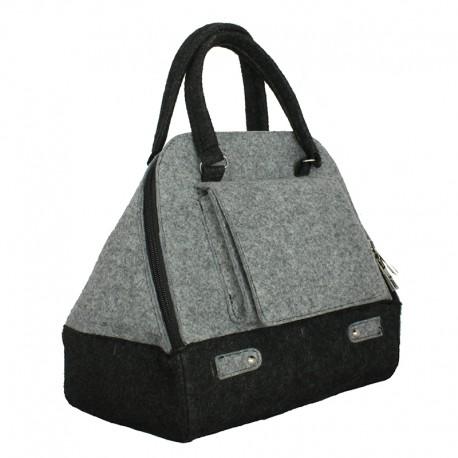 Маленькая сумка из войлока КАРМАН
