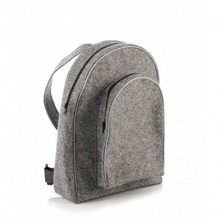 Стильный рюкзак из войлока (серый)