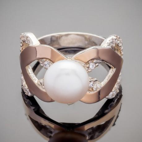 Серебряное кольцо Фиона