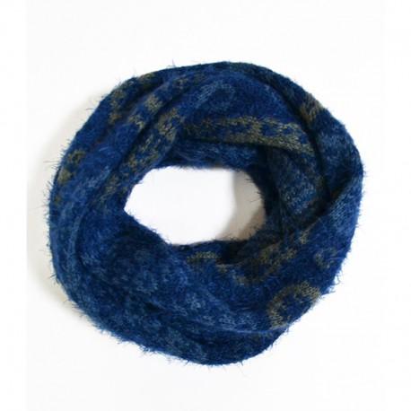 Теплый сунд из шерсти (синий)