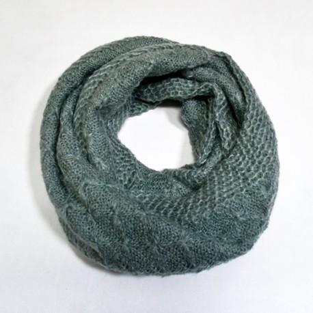 Кашемировый шарф сунд (серый)